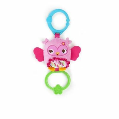 BRIGHT STARTS Peluche Pretty In Pink Tug Tunes