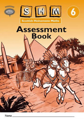 Scottish Heinemann Maths 6: Assessment Book (8 Pack)  BOOK NEW