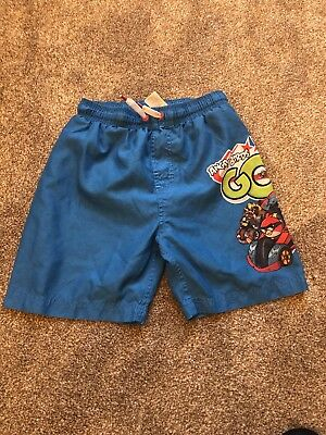 Boys Angry Birds Go Swim Shorts From Next Age 7-8 Years