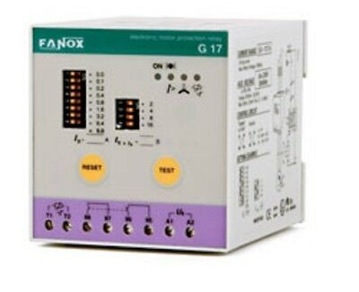 Fanox Motor Protection Relay in Explosive Areas – G17 (Ex)
