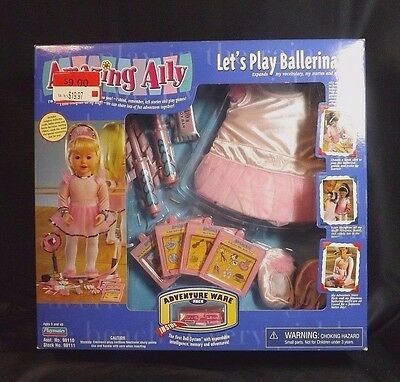 Playmates Amazing Ally Interactive Doll Ballerina Play Set Factory Sealed Nib