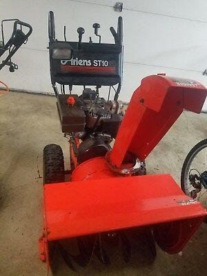 Ariens ST1028 Snowblowers with Electric Start runs good and ready for the snow.