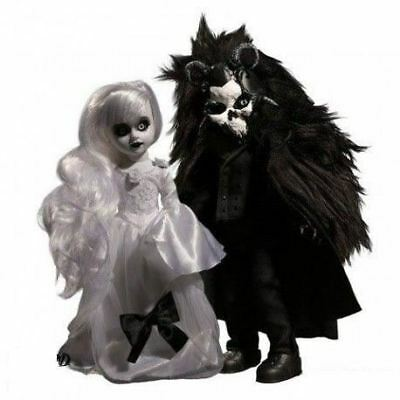Pack de poupées Living Dead Dolls Scary Tales : Beauty and the Beast