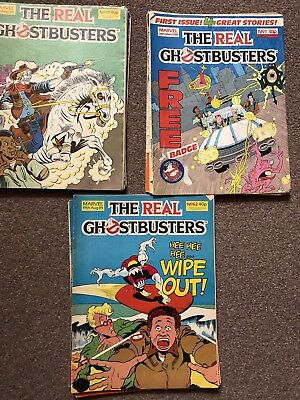 the real ghostbusters comics