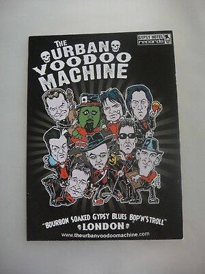 Urban Voodoo Machine, Small Flyer - 2008 - On Tour With The Pogues
