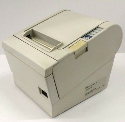 USED Epson M129C TM-T88III M129C POS Thermal Receipt USB Label Printer 880CWhite