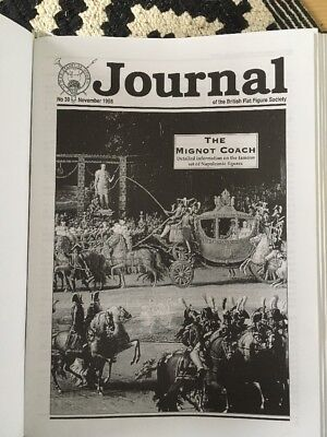 Journal of the British Flat Figure Society, issues 39 - 125