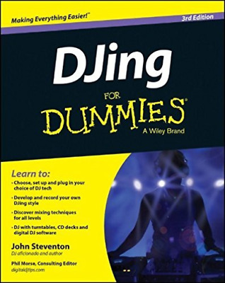 DJing For Dummies  BOOK NEW