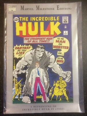 Marvel Milestone Edition: THE INCREDIBLE HULK - Issue # 1 Reprint Marvel Comics