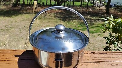 Anthony's coal fired Stainless Steel OVEN TO TABLE Cooking Pot