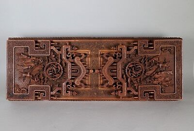 Early 20th Century Chinese Hardwood Bookslide
