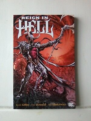 DC Comics - Reign in Hell - Graphic Novel - Keith Giffen