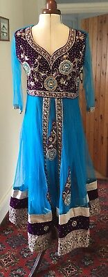 Bollywood Style Asian (Anarkali?) Dress/costume Theatrical/stage