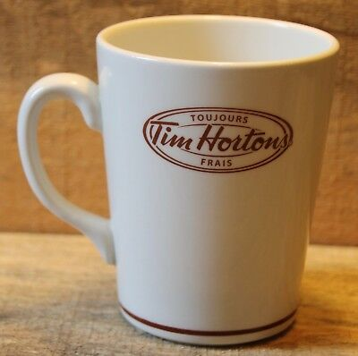Vintage Tim Hortons Steelite Coffee Mug Restaurant Wear Ware Very Nice +