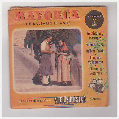 View Master   Mayorca The Balearic Islands  1730-1-2   In Inglese