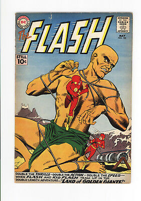 The FLASH #120 - VG+ 4.5 COMPLETE OLD 10 CENT ISSUE 1961 SCARCE - KID FLASH TOO