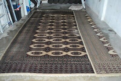 Collection Pakistan Bokhara SAROUK Rug carpet Teppich SIGNED BY MASTER WEAVER