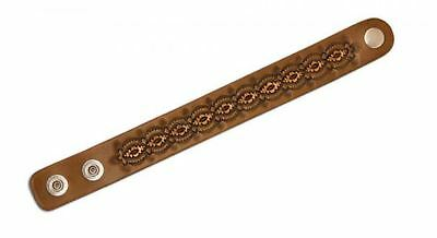 "Adjustable Leather Wristbands 1""W x 7-1/2"" - 8-1/2""L 3/pk. (44173-03)"