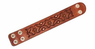 "Adjustable Leather Wristbands 1-1/2""W x 7-1/2"" - 8-1/2""L 25/pk. (44175-25)"