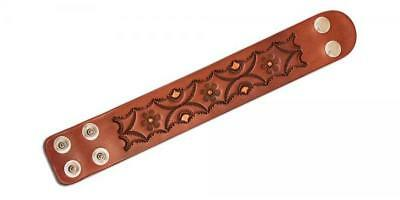 "Adjustable Leather Wristbands 1-1/2""W x 7-1/2"" - 8-1/2""L 3/pk. (44175-03)"