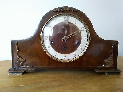 Westminster Chime Mantle Clock by Kienzle for Spares or Repair