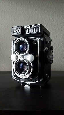 Yashica Mat LM w/ Assorted Medium Format Film
