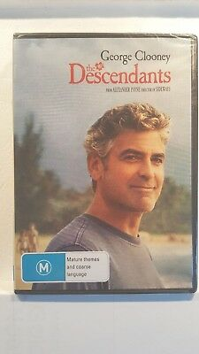 The Descendants [ DVD ] NEW & SEALED, Region 4, FREE Next Day Post from NSW