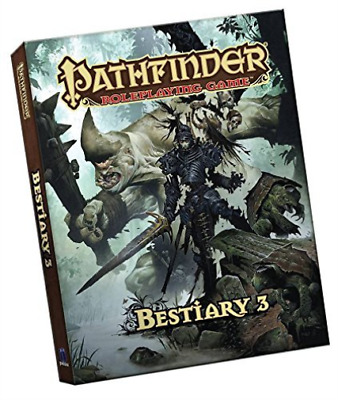 Staff, Paizo-Pathfinder Roleplaying Game: Bestiary 3 Pocket Edition  BOOK NEW