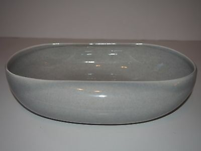 RUSSELL WRIGHT American Mid-Century Modern Gray Curved SERVING DISH Pottery