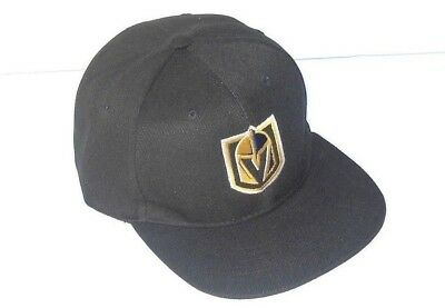 Las Vegas Golden Knights Snap Back Cap Hat Embroidered One Size Flat Bill New!!