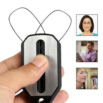 Ultra Thin Carry Nose Clip Optics Presbyopic Reading Glasses 2.0 2.5 With Case-1