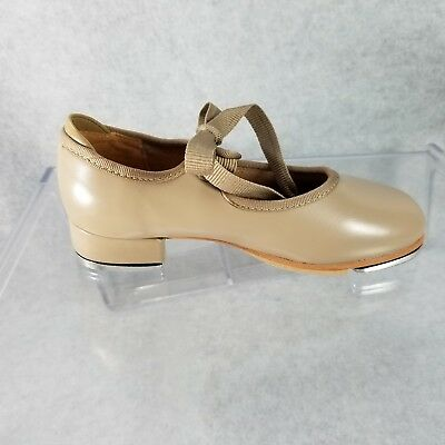 Bloch S0350 Size 8.5 and 9.0 CM Annie Tyette Tap Shoes Beginner Tan New With Box