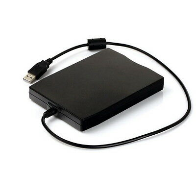 "1.44Mb 3.5"" USB External Portable Floppy Disk Drive Diskette FDD for Laptop ES"