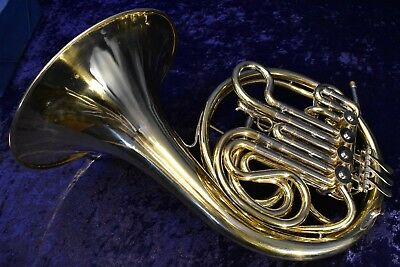 Amati Kraslice AHR 343 (Made in Czech Republic) Double French Horn w/ Case, Mpc