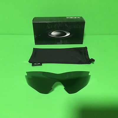 NEW - High Definition Oakley M2 Replacement Lens Grey With Protective Sleeve