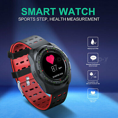KW18 Bluetooth Smart Watch Waterproof Sim Phone Mate For Samsung Android iPhone