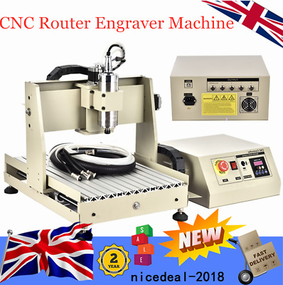 USB 4 Axis 3040 CNC Router Engraver 800W VFD Engraving Drilling Milling Machine