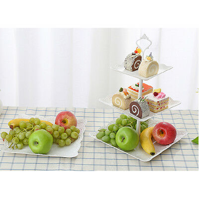Cake Rack Display Home Party Birthday Celebration Bowknot Fruit Display Stand AU