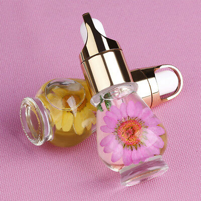 1PC 15ML Dried Flower Nail Cuticle Nutrition Replenishing Oil Random Color