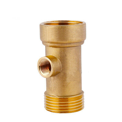 Brass 3 Way Connector Pipe Fittings Connector Fittings Water Pump Pipe Connector