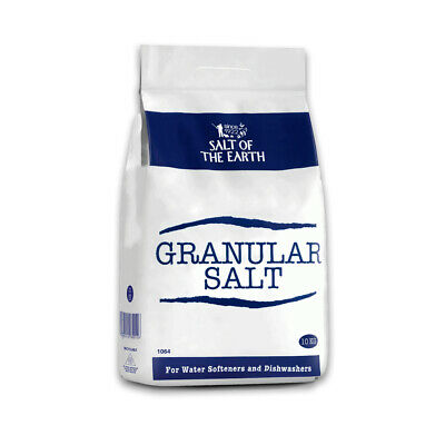 Salt of the Earth GRANULAR SALT 10KG BAGS | Water Softener Dishwasher Food Grade