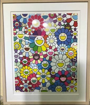 Takashi Murakami New Art Print Flowers on the Island Closest to Heaven Rare New