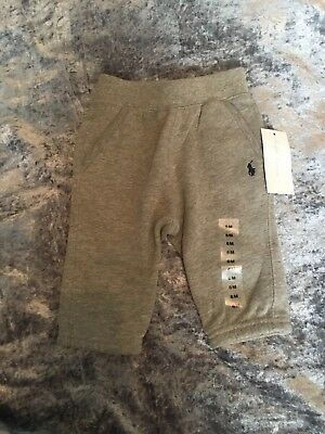 Baby Ralph Lauren Joggers Grey Bottoms Age 6 Months New With Tags