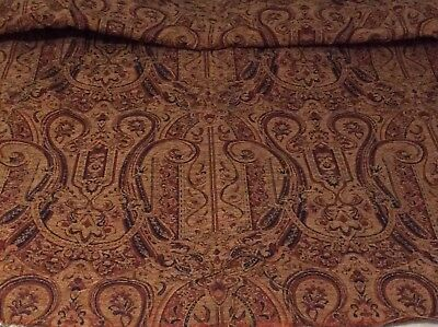 Heavy Antique Tapestry Style Upholstery Fabric
