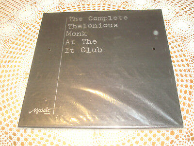The Complete THELONIOUS MONK At the It Club MOSAIC 4 LP BOX Limited Edition NEW