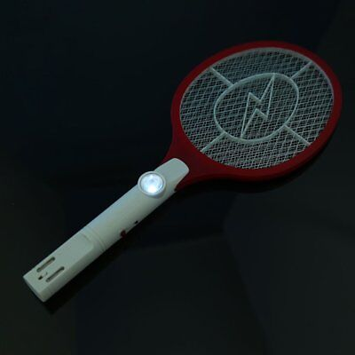 Rechargeable Electronic Mosquito Insect Bug Fly Zapper Swatter Net Racket  D1