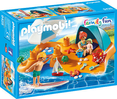 PLAYMOBIL® Family Fun 9425 Familie am Strand