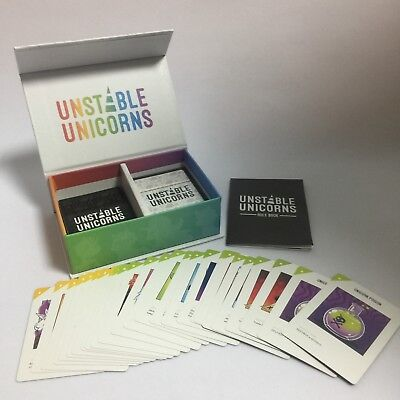135 Pcs Unstable Unicorns Card Game Party Play Cards A Card Game Classic Desktop