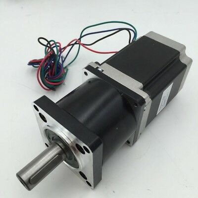 Nema23 Stepper Motor 10:1 L56MM 1.1Nm 3A 2ph Planetary Gearbox Speed Reducer
