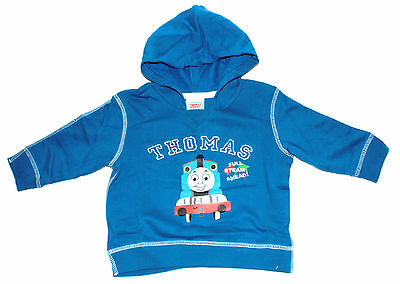 50 x Thomas and Friends Blue Hooded Sweatshirts, 6-9 Months (RRP £12.99)